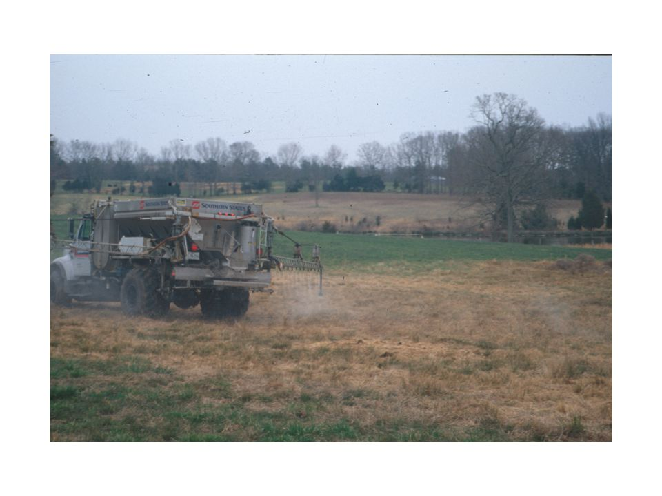 This is the Southern States truck spraying Roundup [glyphosphate herbicide] on Dr.